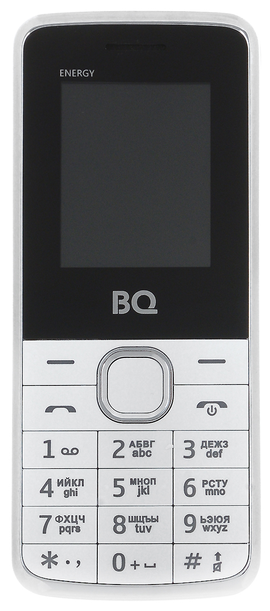BQ 1840 Energy, White - Мобильные телефоны