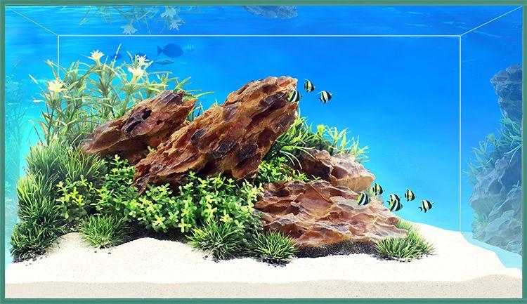 Композиция Meijing Aquarium Акваскейпинг. YS-17116YS-17116