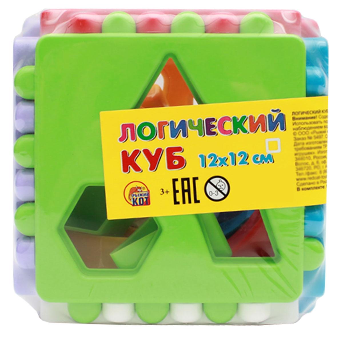Рыжий Кот Обучающая игра Логический куб dilemma головоломка алмазный куб 2