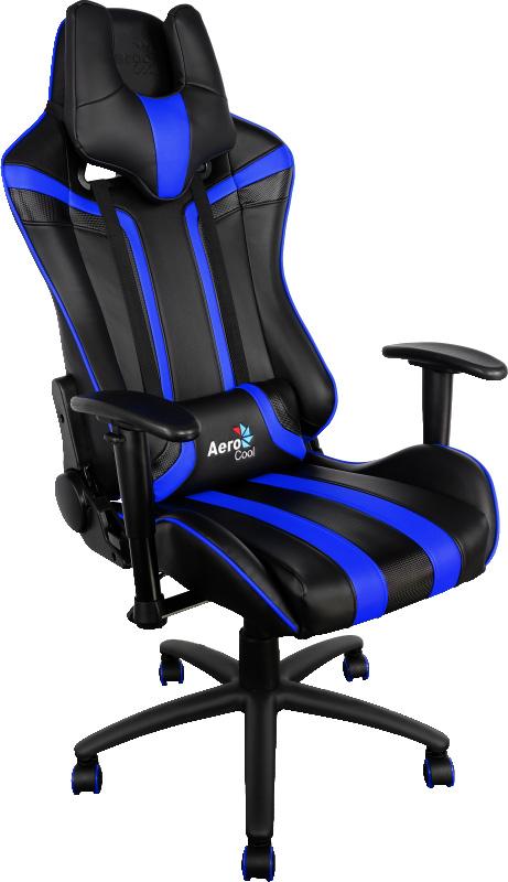 Aerocool AC120-BB, Black Blue игровое кресло - Игровые кресла