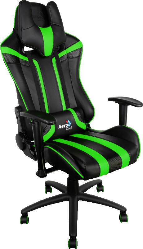 Aerocool AC120-BG, Black Green игровое кресло - Игровые кресла