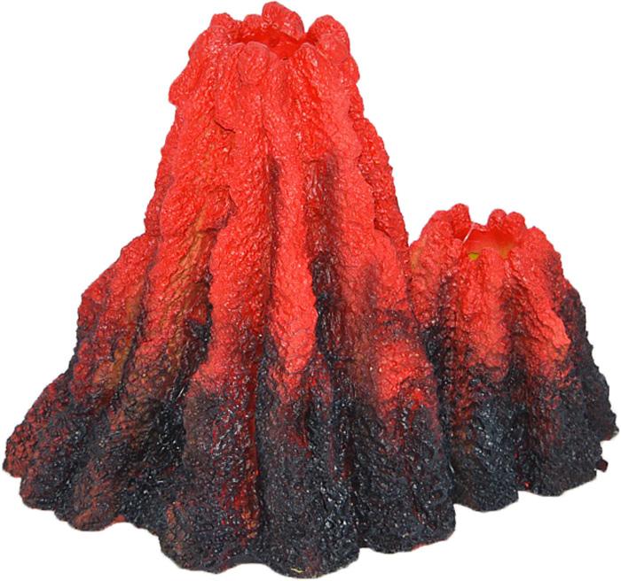 Грот Meijing Aquarium Вулкан, с распылителем и подсветкой. YS-17602 шери уайтфезер вулкан страсти