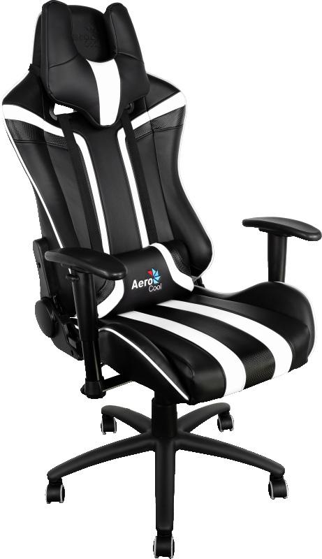 Aerocool AC120-BW, Black White игровое кресло - Игровые кресла