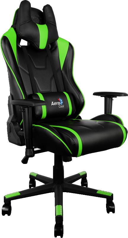 Aerocool AC220-BG, Black Green игровое кресло - Игровые кресла