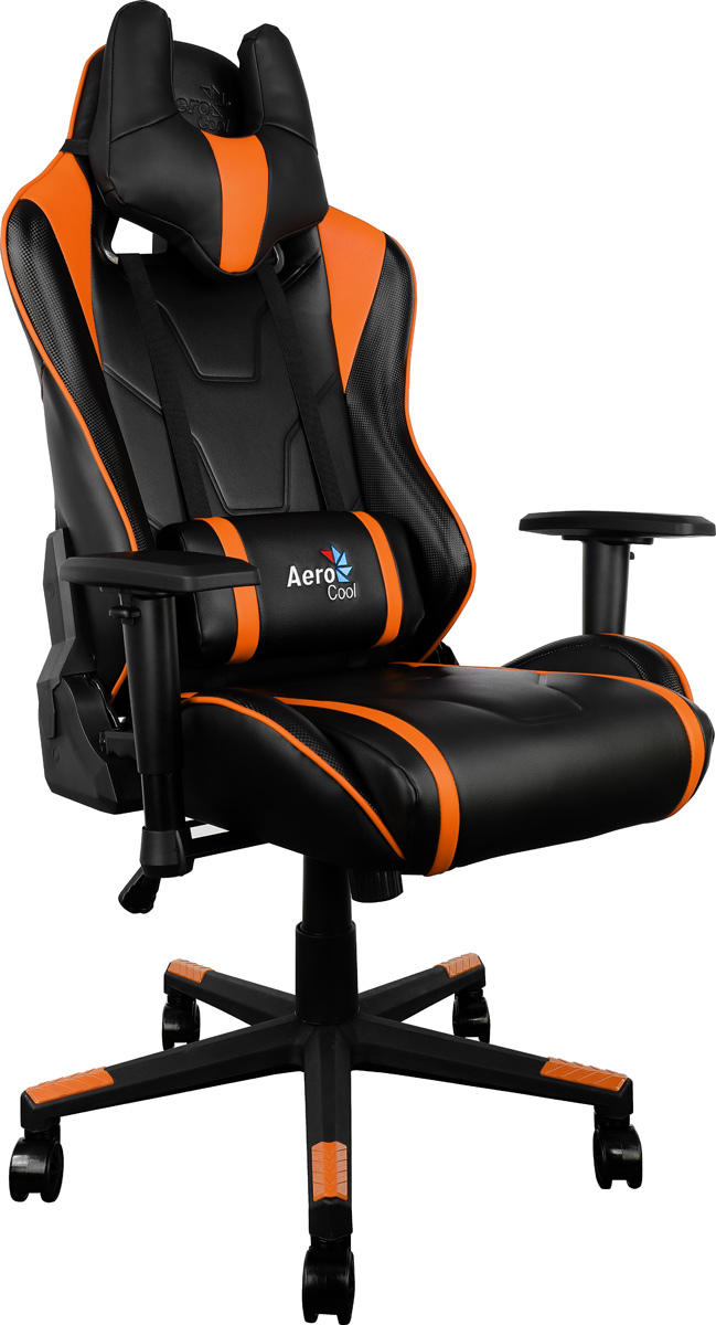 Aerocool AC220-BO, Black Orange игровое кресло