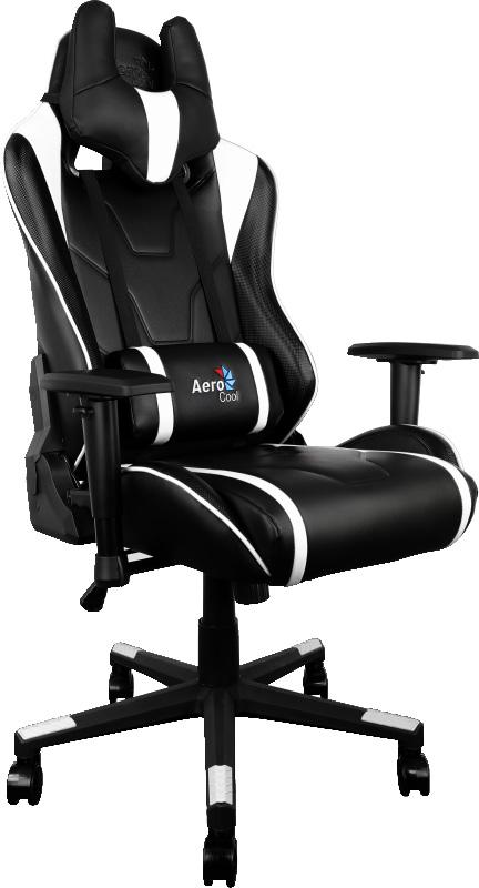 Aerocool AC220-BW, Black White игровое кресло - Игровые кресла