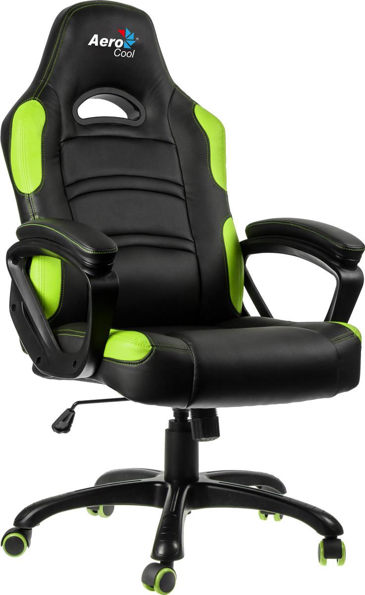 Aerocool AC80C-BG, Black Green игровое кресло - Игровые кресла