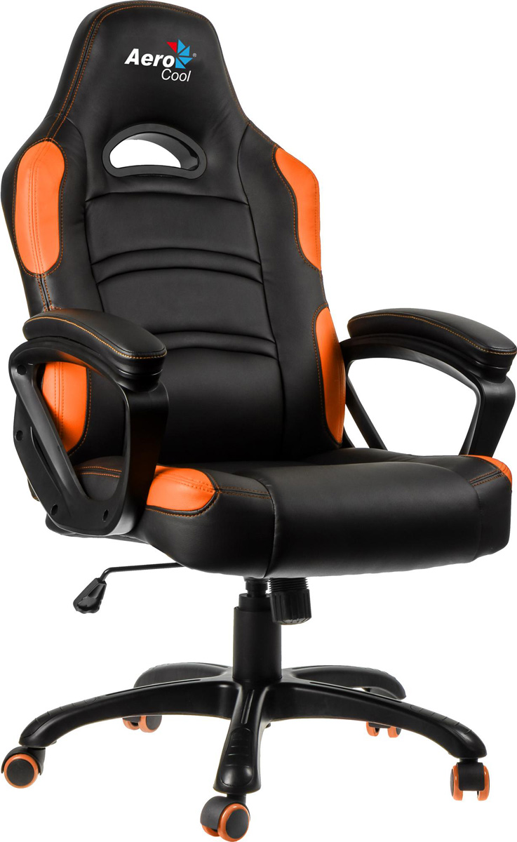Aerocool AC80C-BO, Black Orange игровое кресло