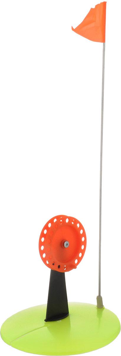 Жерлица неоснащенная Asseri, цвет: желтый, оранжевый2043363_желтый, оранжевыйНеоснащенная жерлица Asseri предназначена для облегчения процесса рыбной ловли зимой на окуней, щук, судаков и других хищников.Прочная конструкция изготовлена из морозостойкого пластика и металла. Для лучшей сигнализации имеется флажок, который выпрямляется во время поклевки. Диаметр жерлицы: 19 см. Размеры детали: 9 х 18 х 2,5 см