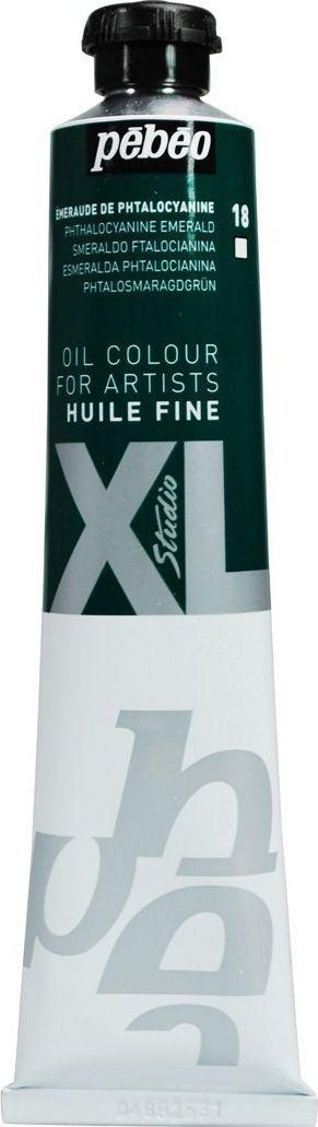 Pebeo Краска масляная XL цвет изумрудный фтало 80 мл