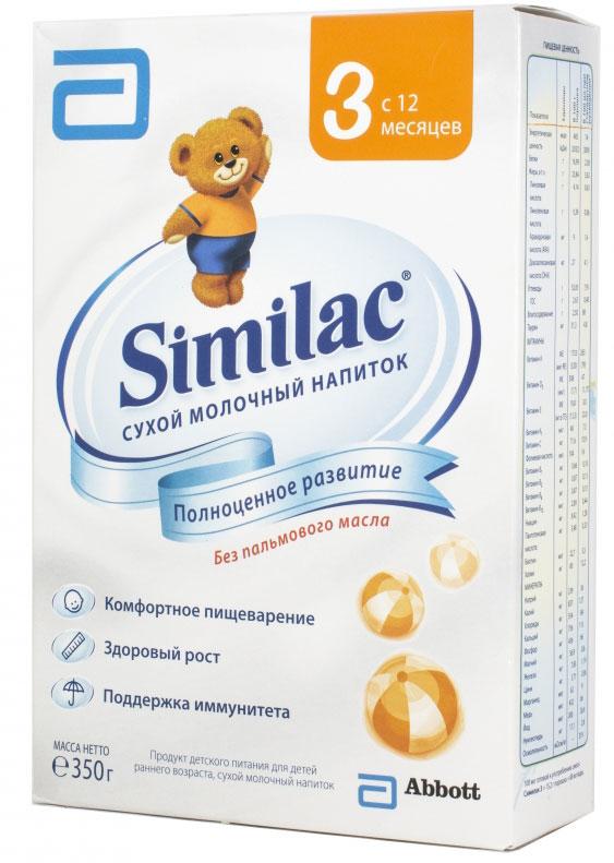 Similac 3 смесь молочная с 12 месяцев, 350 г