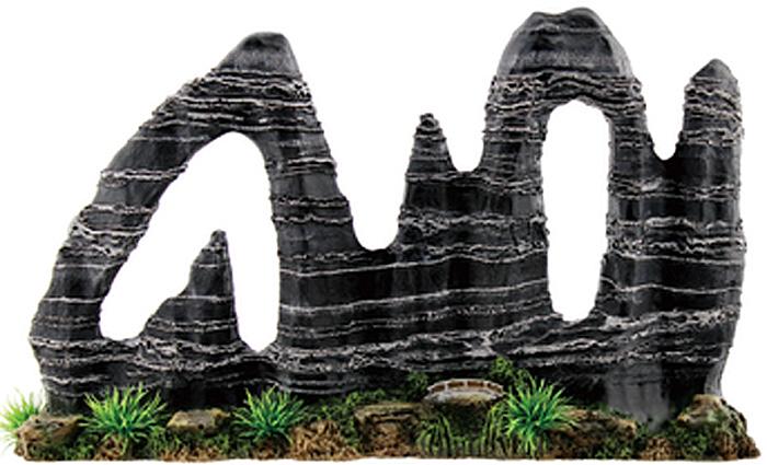 Композиция Meijing Aquarium Камни фигурные. 201506 интернет магазин рыбки в аквариуме