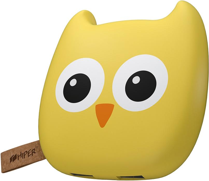 HIPER Zoo, Owl внешний аккумулятор (7500 мАч)OWL 7500 ZOOВнешний аккумулятор Hiper Zoo будет отличным приобретением как для взрослого, так и для ребенка. Он стилизован под забавную зверушку, но при этом сохраняет вполне серьезную функциональность - емкости батареи в 7500 мАч достаточно для трехкратной перезарядки современного смартфона.Универсальное применение. Аккумулятор может работать с телефонами, навигаторами, плеерами и высокопроизводительными планшетами.Удобство использования. Компактное зарядное устройство легко помещается в карман, небольшую сумочку или чехол для ноутбука. Прорезиненный корпус с эффектом софт-тач делает его приятным на ощупь и помогает надежно удерживать гаджет в руках даже при активном движении.Встроенный индикатор. Четыре светодиода отображают уровень остаточного заряда батареи, помогая не остаться без резервного источника питания в самый неподходящий момент.