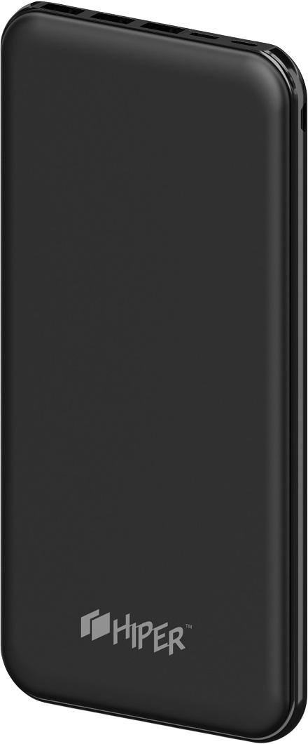 HIPER PSX20000, Black внешний аккумулятор (20000 мАч)PSX20000 BLACKHiper Power Bank PSX20000 идеально подойдет для отпусков и каникул, так как способен одновременно заряжать три устройства и поддерживать жизнь всех ваших гаджетов в течение длительных перелетов и путешествий с ограниченным доступом к розетке.В PSX20000 реализована возможность заряжать устройства посредством кабеля USB Type С и Lightning, что делает устройство совместимым с самыми современными гаджетами. А тонкий и изящный корпус с покрытием софт-тач позволяет разместить устройство даже в дамской сумочке.