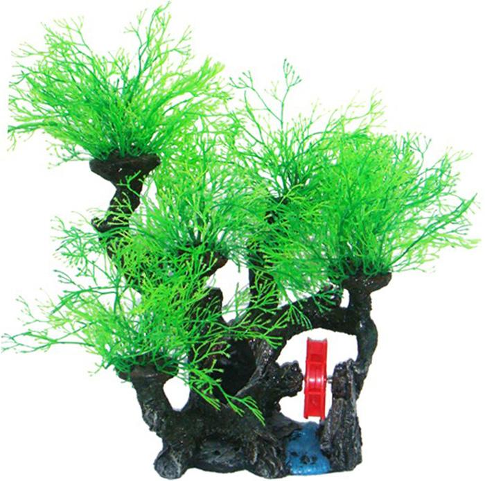 Грот Meijing Aquarium Водяная мельница в горах с деревьями. YM-628YM-628Аквариумный грот – это отличный элемент дизайна. Оригинальные аквариумные украшения придают подводному ландшафту завершенный вид, что крайне важно, ведь одной из главнейших функций аквариума в интерьере является функция эстетическая. Но декорация-грот – это еще и прекрасное укрытие для рыбок и иных обитателей подводного мира. Особенно – в том случае, если кто-либо из ваших питомцев проявляет излишнюю агрессивность по отношению к соседям. В таком случае грот для аквариума окажется совершенно незаменимым. Грот Meijing Aquarium прекрасно впишется в любой интерьер аквариума. А в сочетании с другими элементами декора сделает среду обитания ваших рыбок максимально приближенной к морской среде. Декорация абсолютно безвредна для рыб и растений. Грот тонет и не требует дополнительной фиксации в аквариуме. Может использоваться как в пресной, так и в морской воде. Изделие не токсично, не тускнеет и не теряет цвета, краска не облазит.