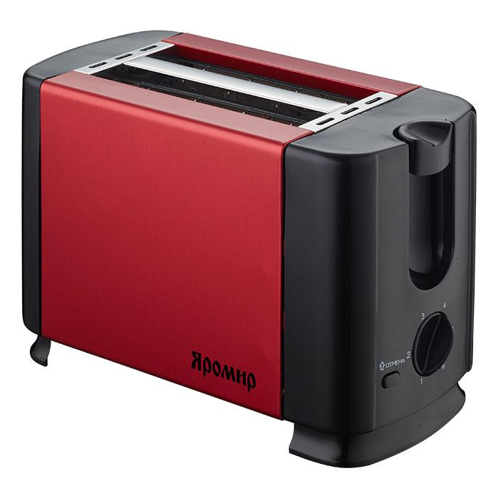 Яромир ЯР-602, Red Black тостер