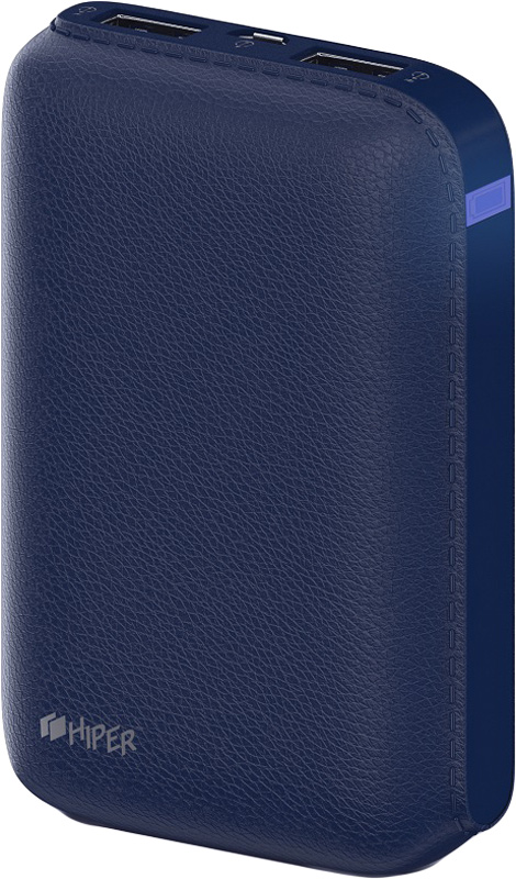 HIPER SP7500, Indigo внешний аккумулятор (7500 мАч) hiper power bank rp7500 инструкция