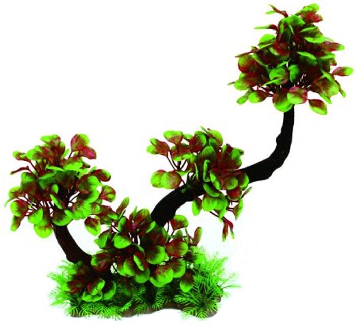 Грот Meijing Aquarium Дерево бонсай, 40 см. YM-2060YM-2060Великолепное искусственное дерево, выполненное из пластика высшего качества, станетотличной декорацией в вашем аквариуме. Гроты абсолютно не токсичны, не требуют никакойдополнительной обработки перед установкой в аквариум.Высота декора: 40см.