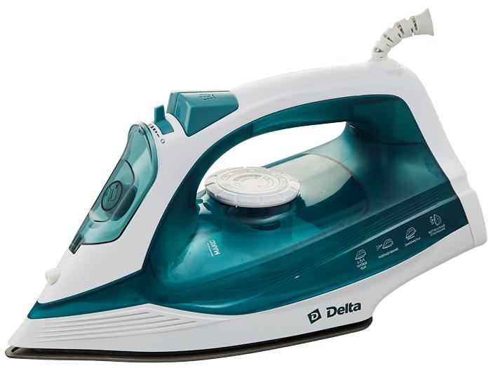 Delta DL-713, White Turquoise утюг кресло arma black