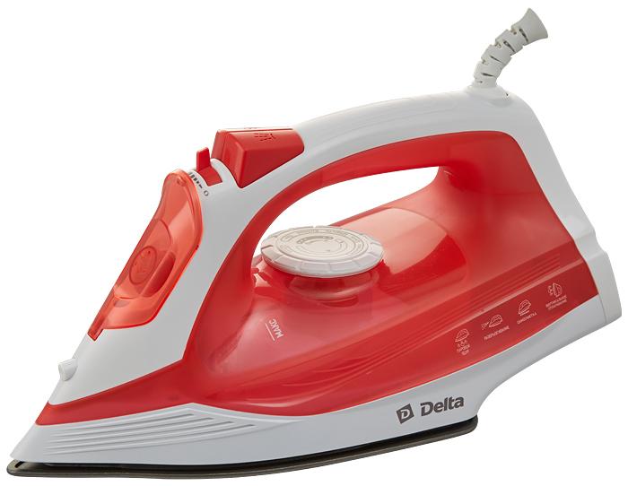 Delta DL-713, White Red утюг утюг delta dl 418t turquoise