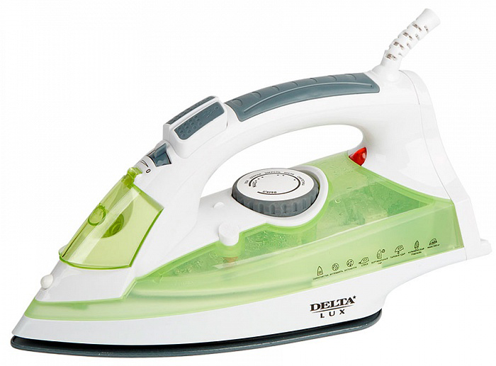 Delta LUX DL-350, Green утюг чайник delta dl 1056 white green