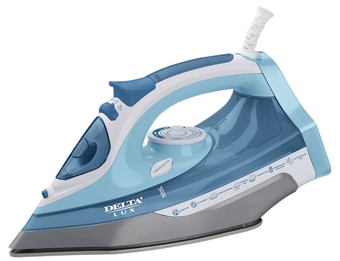 Delta LUX DL-712, White Gray Blue утюг мини печь delta d 022 white