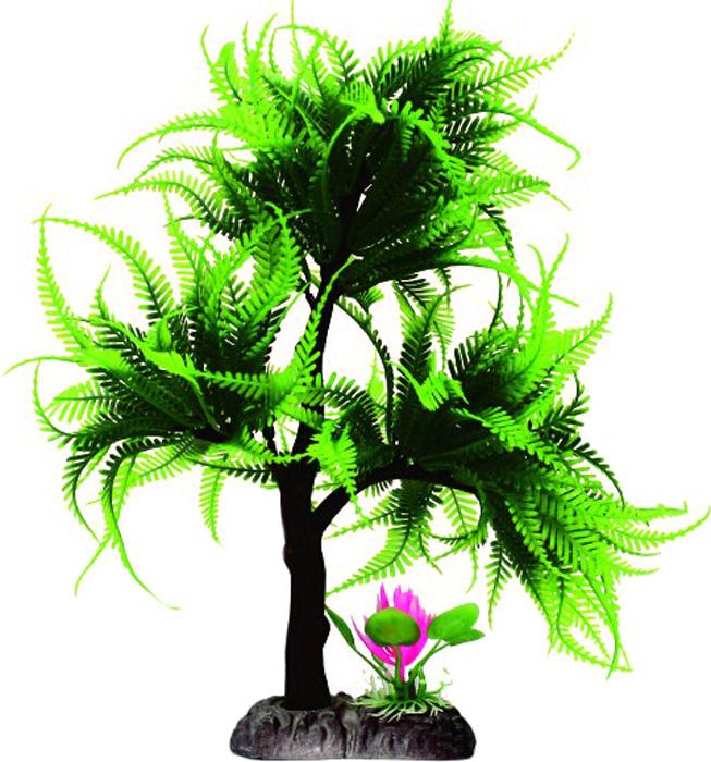 Грот Meijing Aquarium Дерево бонсай, 35-38 см. YM-3031YM-3031Великолепное искусственное дерево, выполненное из пластика высшего качества, станетотличной декорацией в вашем аквариуме. Гроты абсолютно не токсичны, не требуют никакойдополнительной обработки перед установкой в аквариум.С их помощью можно сделатьаквариум в стиле японского минимализма, установив такое высокое дерево в один крайаквариума и оппонировать ему невысокими камнями, например «Сталагмит», в таком случаебольшую часть пространства аквариума останется для рыб. Или использовать такое дерево ввиде центральной композиции, обыграть его прочими гротами, например, искусственнымикорягами и камнями, и различными искусственными растениями, тогда у вас получится богатыйкрасочный пейзаж.