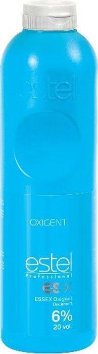 Estel Оксигент Essex 6%, 1 лO 6/1000Специально разработанный стабилизированный оксигент в виде эмульсии молочного цвета. Позволяет достичь наилучших результатов с крем-красками ESSEX и обесцвечивающей пудрой ESSEX Super Blond Plus.