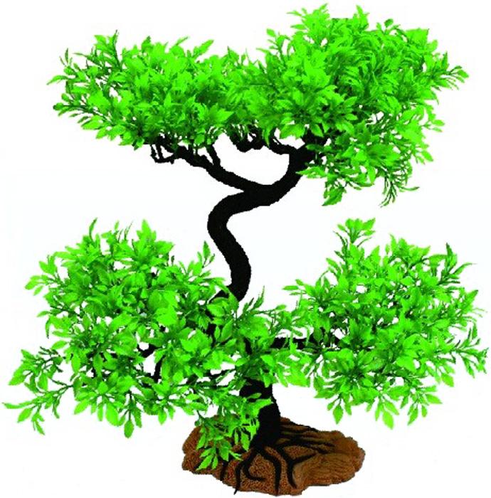 Грот Meijing Aquarium Дерево бонсай, разборное, 40 см. YM-5006YM-5006Великолепное искусственное дерево, выполненное из пластика высшего качества, станетотличной декорацией в вашем аквариуме. Гроты абсолютно не токсичны, не требуют никакойдополнительной обработки перед установкой в аквариум.Декор состоит из нескольких разборных частей, что позволяет создать нужный дизайн и форму, атакже упрощает уход за декорацией.Высота декора: 40см.