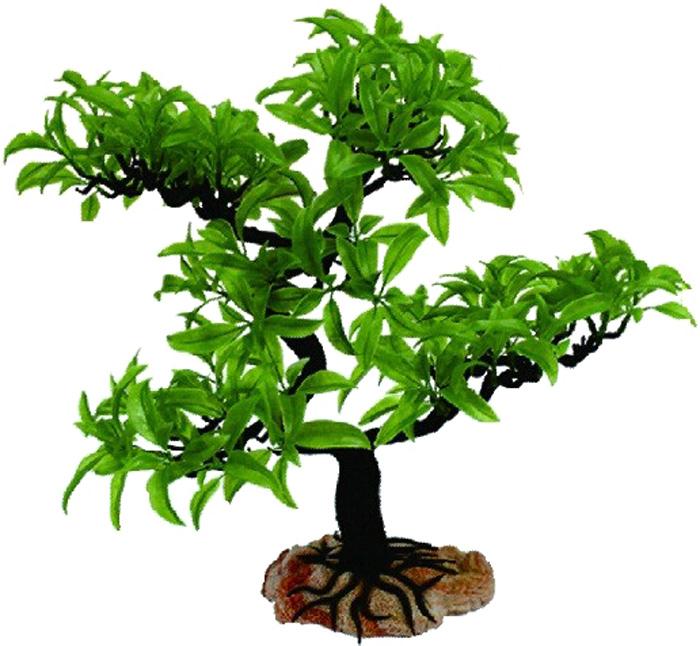 Грот Meijing Aquarium Дерево бонсай, разборное, 40 см. YM-5007YM-5007Великолепное искусственное дерево, выполненное из пластика высшего качества, станет отличной декорацией в вашем аквариуме. Гроты абсолютно не токсичны, не требуют никакой дополнительной обработки перед установкой в аквариум. Декор состоит из нескольких разборных частей, что позволяет создать нужный дизайн и форму, а также упрощает уход за декорацией. Высота декора: 40см.
