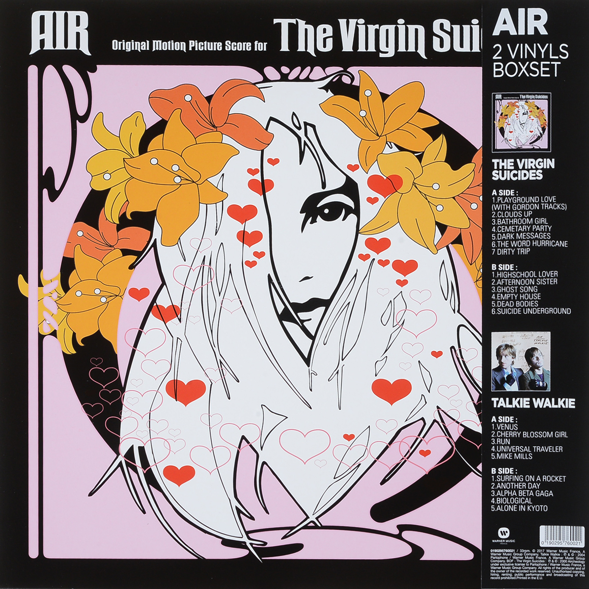 Air Air. Talkie Walkie / The Virgin Suicides (2 LP) 3 meter hkn4137a dc power cable cord wire for motorola mobile radio walkie talkie pm400 cm200 cm300 cdm750 cdm1250 hkn4137
