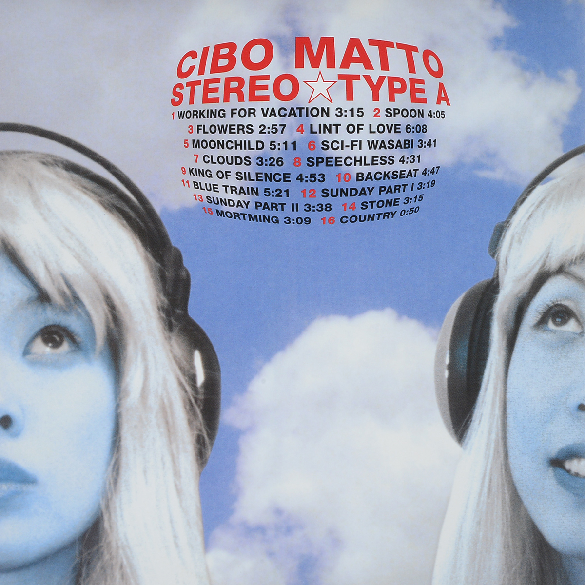 Cibo Matto. Stereo Type A (2 LP)