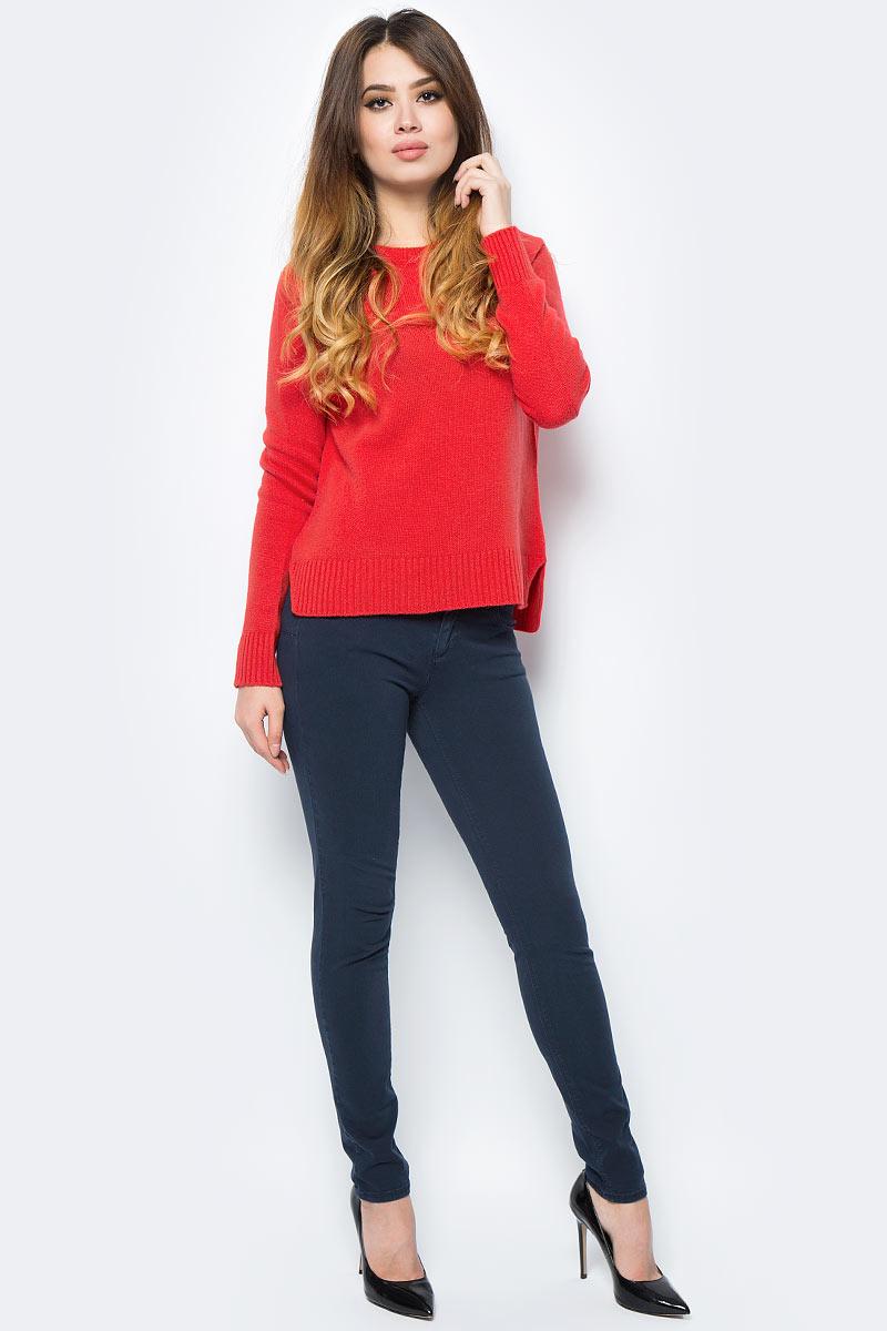 Свитер жен United Colors of Benetton, цвет: красный. 1202D1D93_21L. Размер S (42/44)1202D1D93_21L