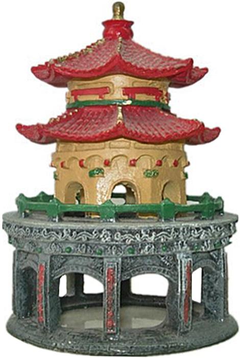 Грот Meijing Aquarium  Китайский дворец . AC-111 - Аксессуары для аквариумов