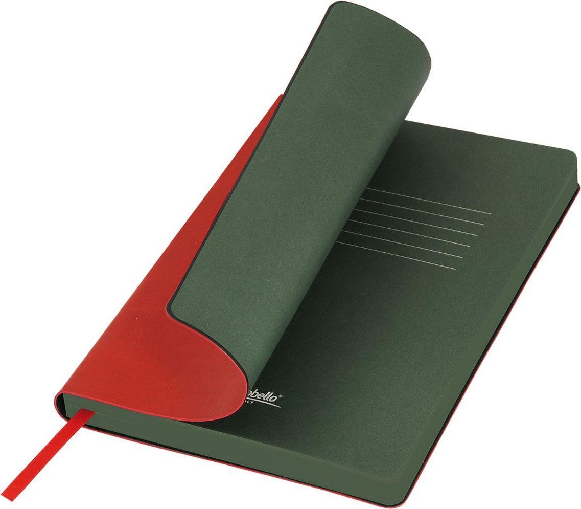 Portobello Trend Ежедневник недатированный River Side 128 листов цвет красный зеленыйLXX1501256-060Гибкая обложка выполнена из материала с эффектом венецианской штукатурки. На ощупь прослеживается мелкий рельеф. Фактура – глянцевая. Тон за счет фактуры может меняться в зависимости от освещения. Цвет форзацев контрастный и яркий. Ляссе в цвет форзаца.