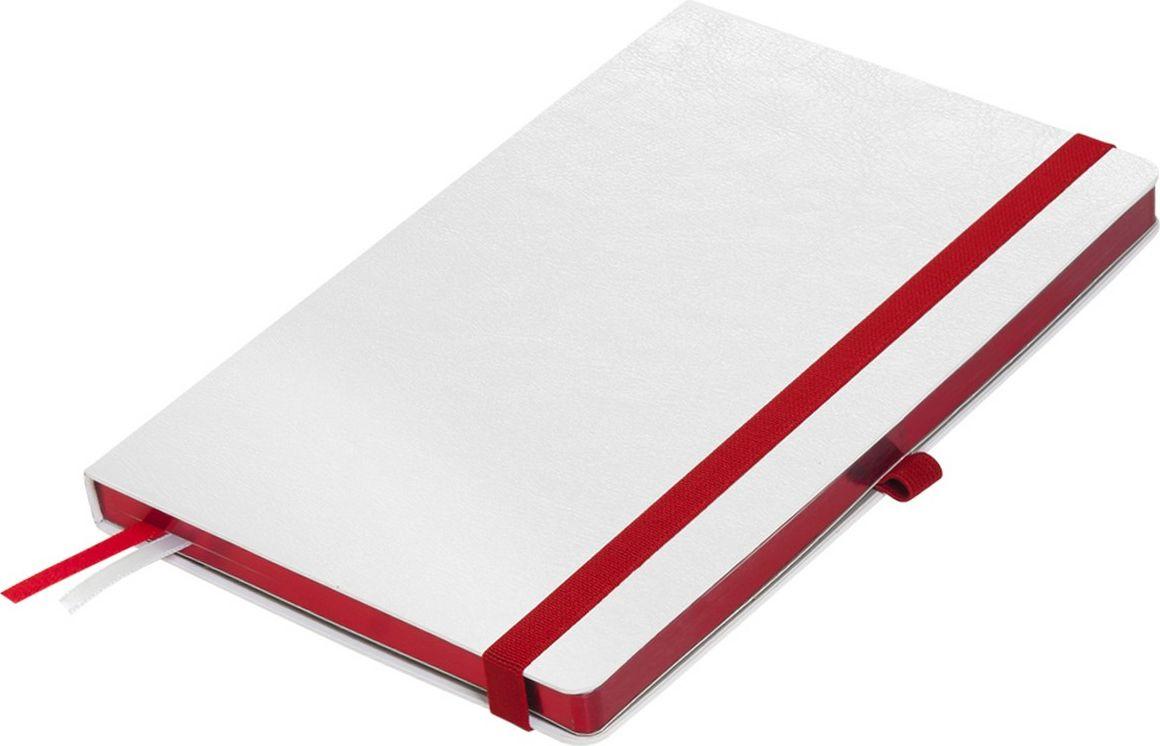 Portobello Trend Ежедневник недатированный Arctic 128 листов цвет белый красныйLXX1601261-060Жесткая обложка белого цвета. Эффектно выглядит сочетание базового белого цвета обложки с яркими тонами форзаца и фольгированного среза.