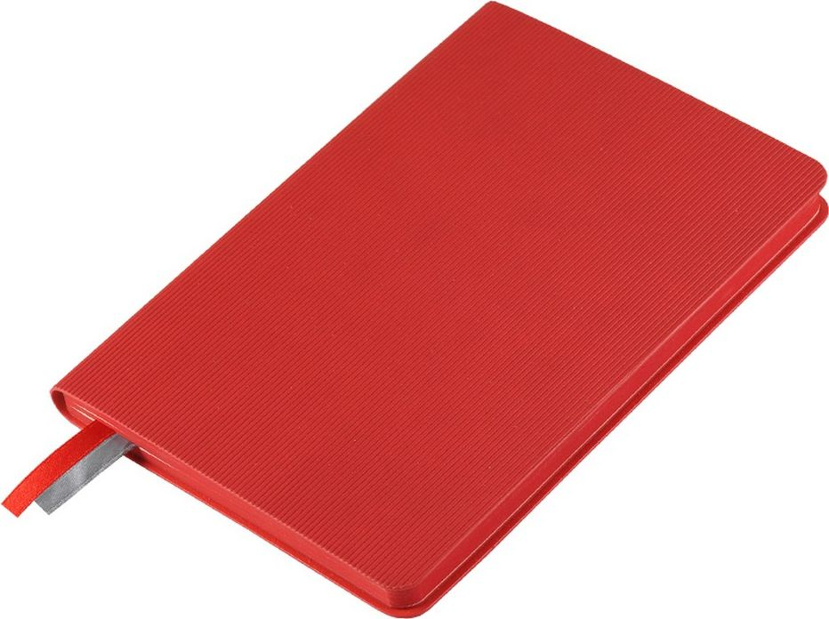 Portobello Trend Ежедневник недатированный Rain 88 листов цвет красныйLXX1621144-060Мягкая обложка с вертикальным рифлением выполнена из искусственной кожи.На ощупь – бархатистая, со слегка прорезиненным эффектом. За счет интересной рельефной фактуры прослеживается игра цвета при перемене освещения. Цвет форзаца везде серый, цвет среза совпадает с цветом обложки.
