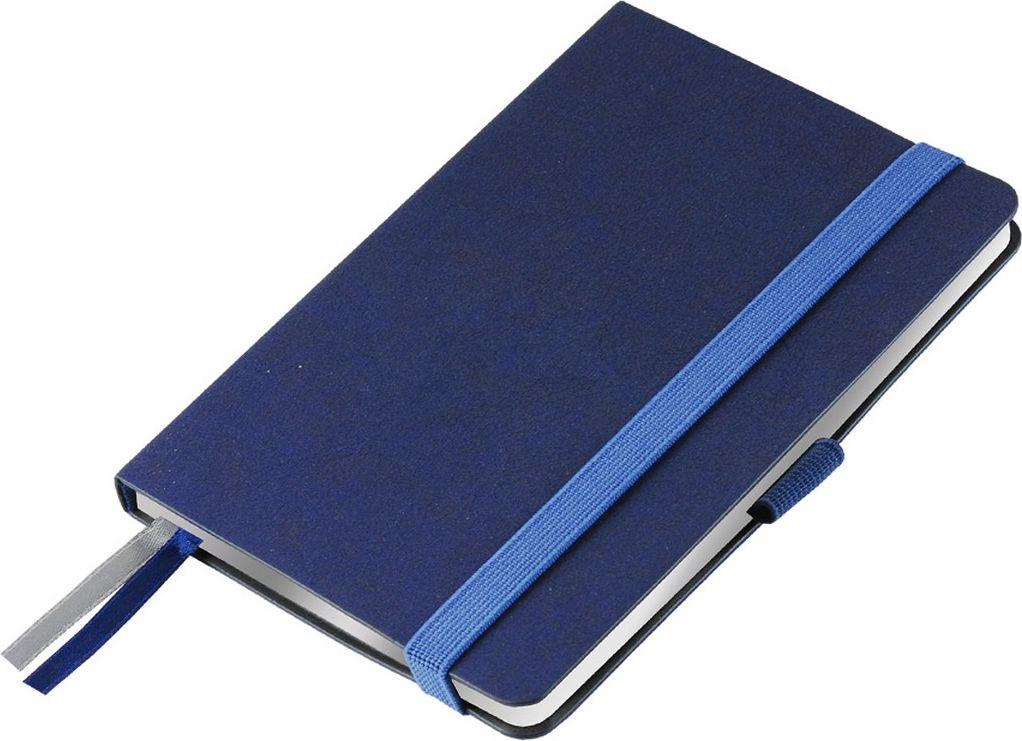 Portobello Trend Ежедневник недатированный Blue Ocean 88 листов цвет синий серебристыйLXX1621148-SILVERЖесткая обложка синего цвета выполнена из материала новаторских технологий. Искусственная кожа тактильно похожа на фактуру бумаги - на ощупь шелковистая, с еле заметным рельефом хорошо выделанной гладкой кожи. Цвет – неоднородный, с переливами от очень темных до светлых тонов. Эффектно выглядит сочетание базового синего цвета обложки с яркими тонами форзаца и среза.