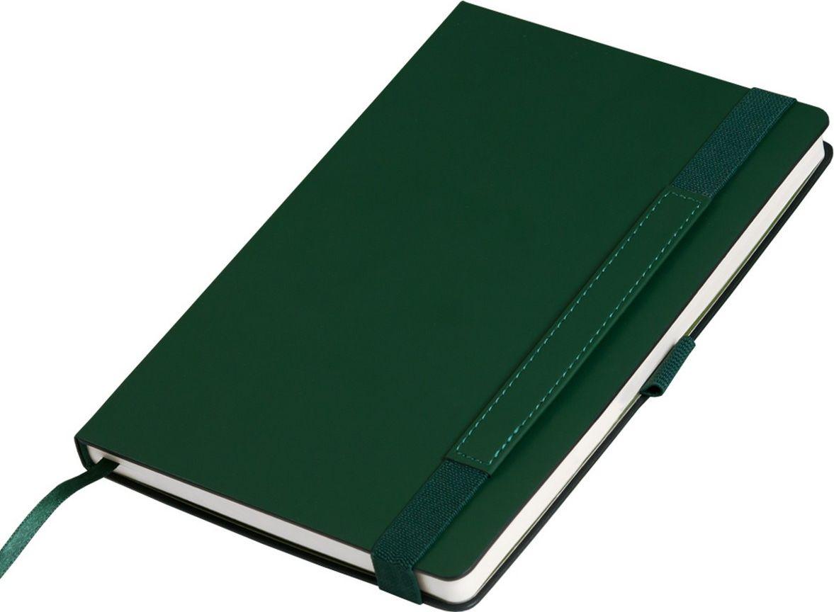 Portobello Trend Ежедневник недатированный Alpha 128 листов цвет зеленый оливковыйLXX1701264-040Материал Alpha c эффектом Soft-Touch, жесткая обложка. Широкая резинка-фиксатор со вставкой из ПУ (дополнительное поле для персонализации), форзац и нахзац контрастный, без прокраса среза.