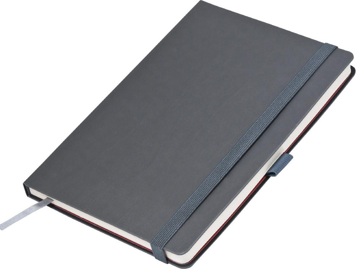 Portobello Trend Ежедневник недатированный Monte 128 листов цвет серый красныйLXX1701265-080Материал: термо ПУ с эффектом натуральной кожи.Жесткая обложка серого цвета.Широкая резинка-фиксатор, форзац и нахзац контрастный,без прокраса среза,петелька под ручку.
