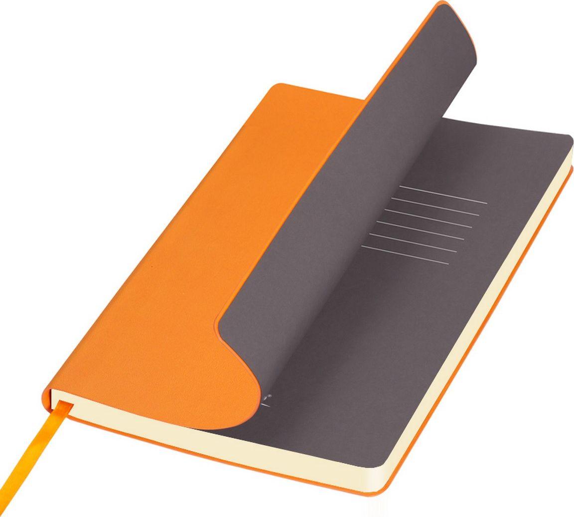 Portobello Trend Ежедневник недатированный Sky 128 листов цвет оранжевый серыйLXX1401141-070/1Мягкая обложка выполнена из материала вельвет с чуть заметно проступающей фактурой нубука. На ощупь гладкая. Форзацы – цветные. Цвета-компаньоны форзацев и срезов подобраны идеально, что предполагает гармоничное визуальное восприятие. Срез ежедневника не окрашен.
