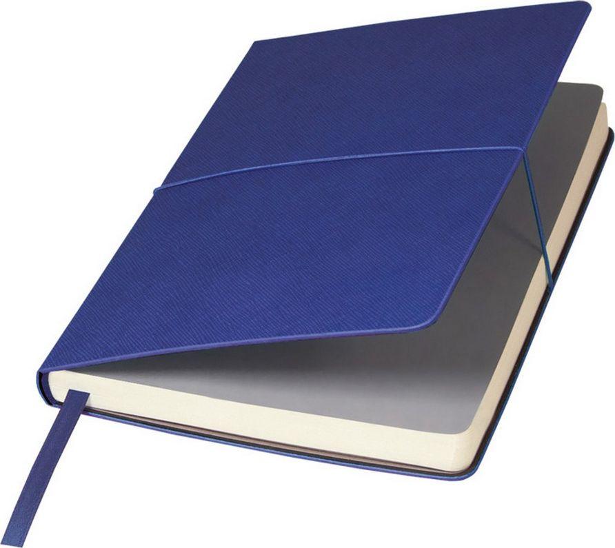 Portobello Trend Ежедневник недатированный Summer Time 128 листов цвет синийLXX1401143-030/1Жесткая обложка с внешним эффектом «венецианской штукатурки» выполнена из искусственной кожи, на ощупь – слегка прорезиненная, с рельефной фактурой. Цвет форзаца – серый.