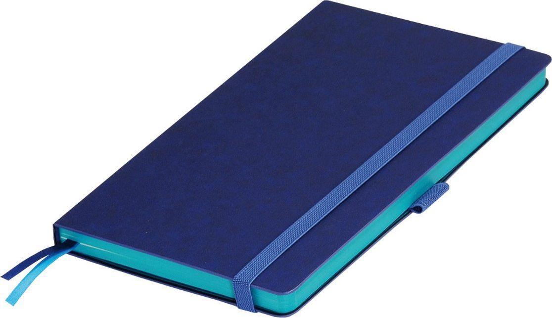 Portobello Trend Ежедневник недатированный Blue Ocean 128 листов цвет синий акваLXX1401148-600/1Жесткая обложка синего цвета выполнена из материала новаторских технологий. Искусственная кожа тактильно похожа на фактуру бумаги - на ощупь шелковистая, с еле заметным рельефом хорошо выделанной гладкой кожи. Цвет – неоднородный, с переливами от очень темных до светлых тонов. Эффектно выглядит сочетание базового синего цвета обложки с яркими тонами форзаца и среза.