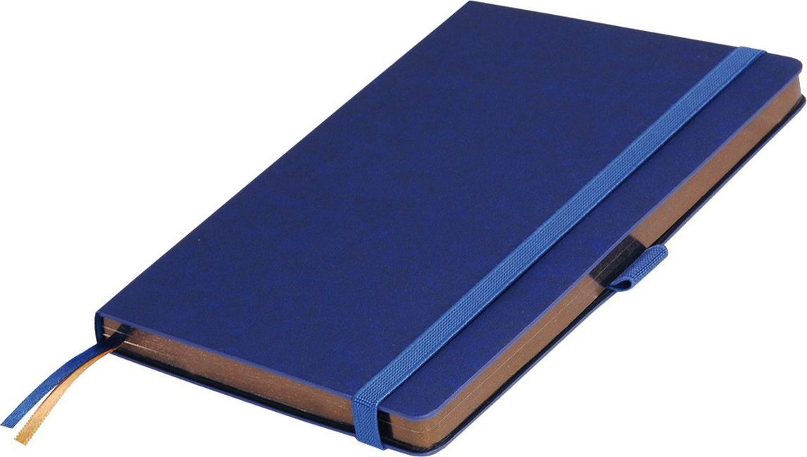 Portobello Trend Ежедневник недатированный Blue Ocean 128 листов цвет синий бронзовыйLXX1401148-bronze/1Жесткая обложка синего цвета выполнена из материала новаторских технологий. Искусственная кожа тактильно похожа на фактуру бумаги - на ощупь шелковистая, с еле заметным рельефом хорошо выделанной гладкой кожи. Цвет – неоднородный, с переливами от очень темных до светлых тонов. Эффектно выглядит сочетание базового синего цвета обложки с яркими тонами форзаца и среза.
