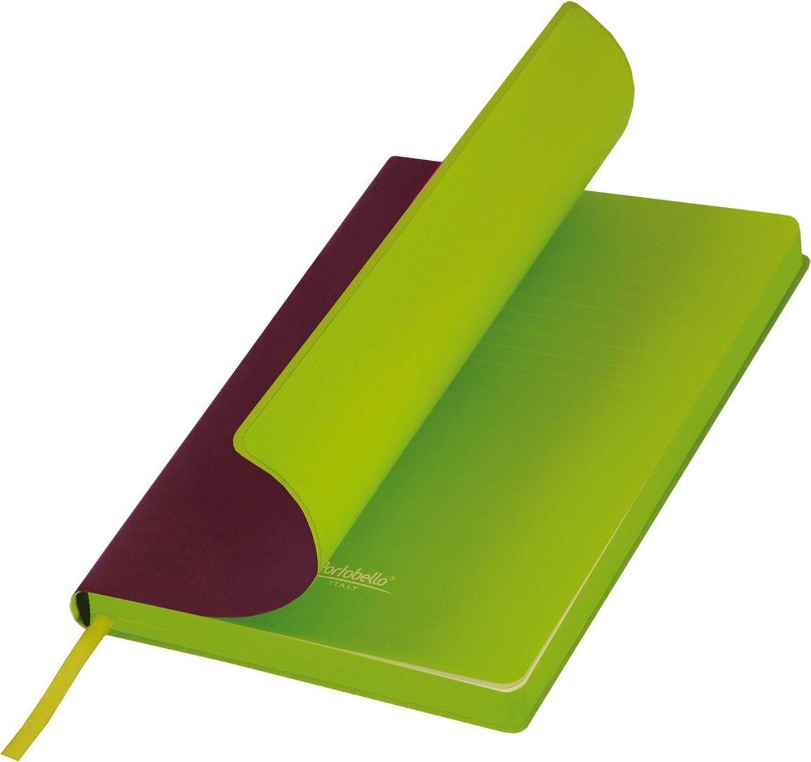 Portobello Trend Ежедневник недатированный Latte 128 листов цвет бордовый лимонныйLXX1501254-050/1Мягкая матовая обложка выполнена из бархатистой искусственной кожи. Цвет – однородный, глубокий, слегка припудренный. На ощупь – теплая, слегка прорезиненная. Яркая находка – контрастное сочетание обложки и среза. Цвет форзаца и цвет среза – совпадают. Есть ляссе.