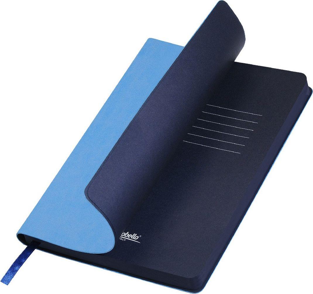 Portobello Trend Ежедневник недатированный Latte 128 листов цвет голубой синийLXX1501254-600/1Мягкая матовая обложка выполнена из бархатистой искусственной кожи. Цвет – однородный, глубокий, слегка припудренный. На ощупь – теплая, слегка прорезиненная. Яркая находка – контрастное сочетание обложки и среза. Цвет форзаца и цвет среза – совпадают. Есть ляссе.