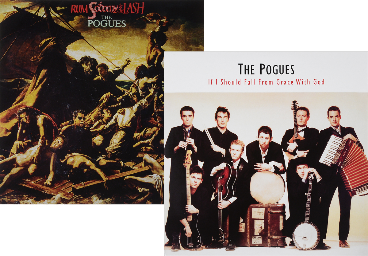 The Pogues The Pogues. If I Should Fall From Grace With God / Rum, Sodomy And The Lash (2 LP)