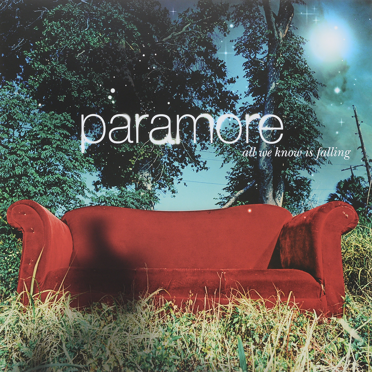 Paramore Paramore. All We Know Is Falling (LP) nao nao for all we know 2 lp