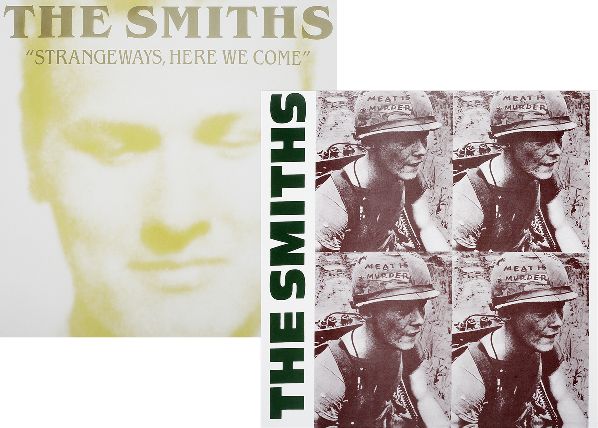 The Smiths The Smiths. Meat Is Murder / Strangeways Here We Come (2 LP) the smiths the smiths the queen is dead lp