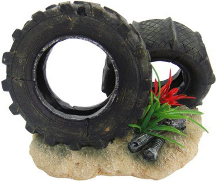 Грот Meijing Aquarium Шины. MJA-002MJA-002Аквариумный грот – это отличный элемент дизайна. Оригинальные аквариумные украшения придают подводному ландшафту завершенный вид, что крайне важно, ведь одной из главнейших функций аквариума в интерьере является функция эстетическая. Но декорация-грот – это еще и прекрасное укрытие для рыбок и иных обитателей подводного мира. Особенно – в том случае, если кто-либо из ваших питомцев проявляет излишнюю агрессивность по отношению к соседям. В таком случае грот для аквариума окажется совершенно незаменимым. Грот Meijing Aquarium прекрасно впишется в любой интерьер аквариума. А в сочетании с другими элементами декора сделает среду обитания ваших рыбок максимально приближенной к морской среде. Декорация абсолютно безвредна для рыб и растений. Грот тонет и не требует дополнительной фиксации в аквариуме. Может использоваться как в пресной, так и в морской воде. Изделие не токсично, не тускнеет и не теряет цвета, краска не облазит.